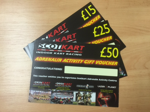 Lazer Planet vouchers, gift idea
