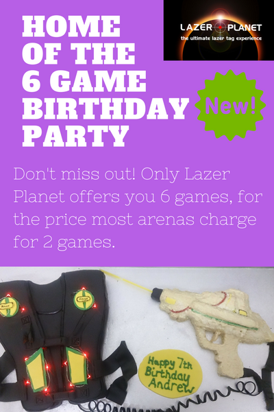 Glasgow Laser Tag Birthday Parties
