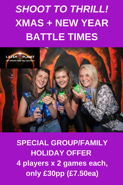 Glasgow Laser Tag Festive Fun